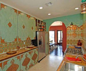 дизайн кухни в индийском стиле