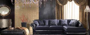 мягкая мебель в стиле арт деко