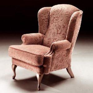 офисное кресло в английском стиле