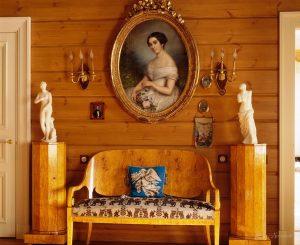 русская мебель в стиле ампир