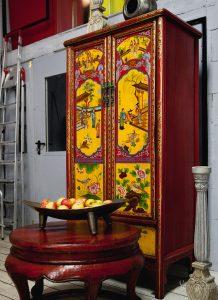 дизайн шкафа в китайском стилек
