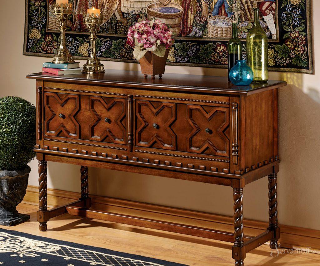 как сделать мебель под старину своими руками