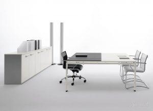 стиль хай тек в дизайне мебели для офиса