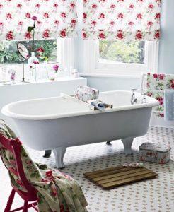 шебби шик в ванной
