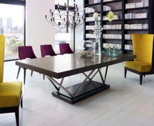 стол в стиле лофт из дерева