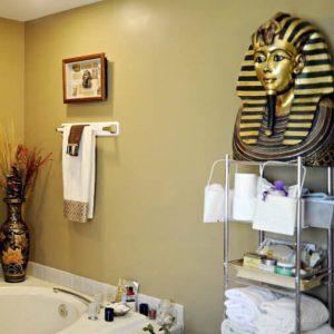 дизайн ванной в египетском стиле