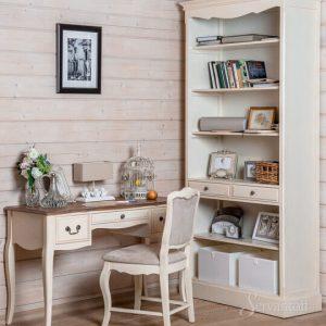 стеллаж прованс с мебелью