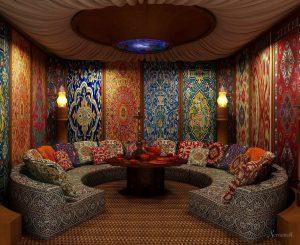 диваны в восточном стиле