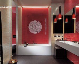 дизайн ванны в китайском стиле