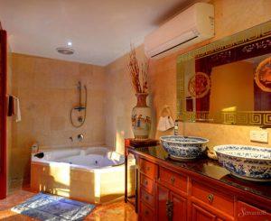интерьер ванной в китайском стиле