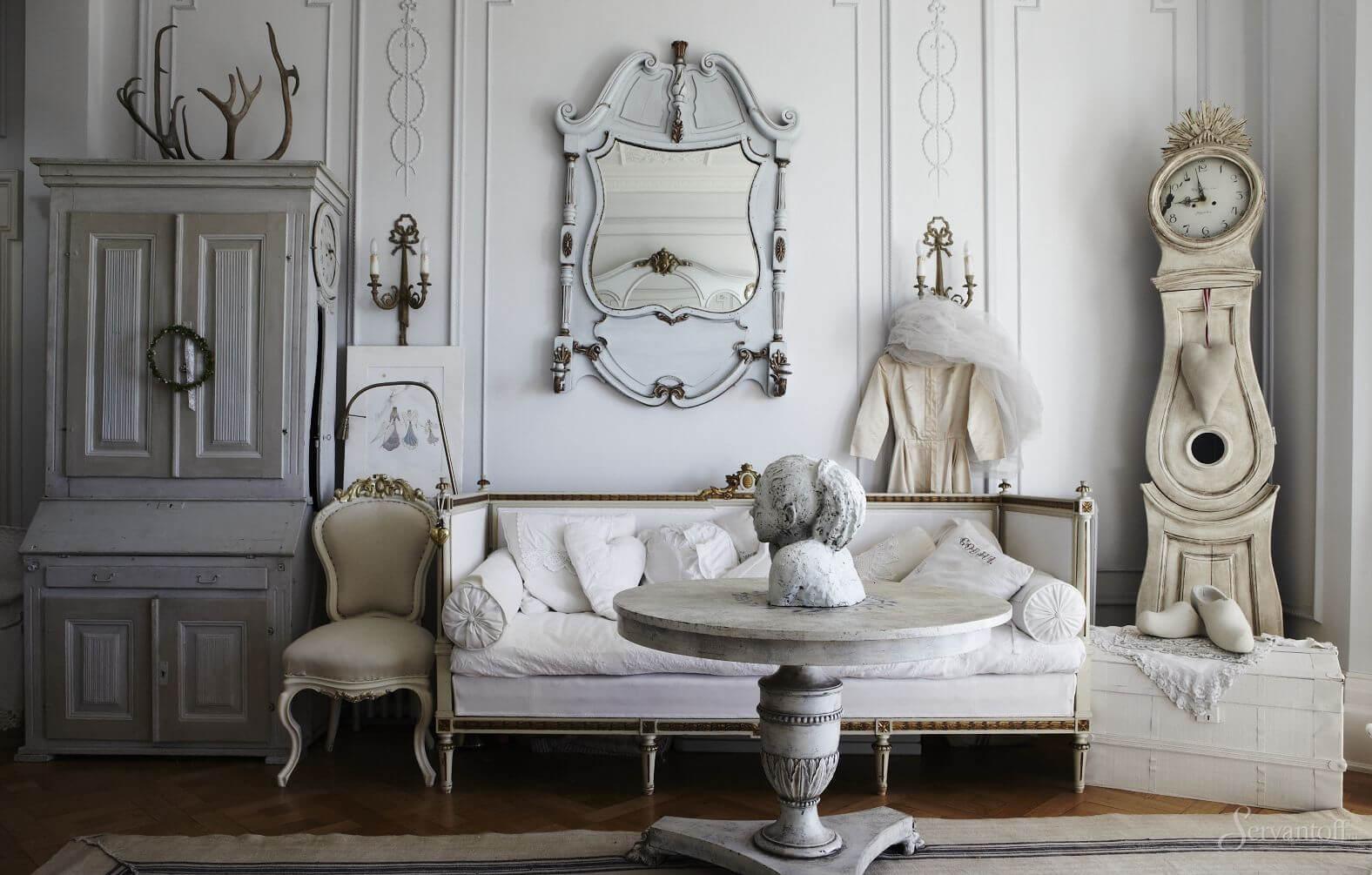 мебель в стиле шебби шик