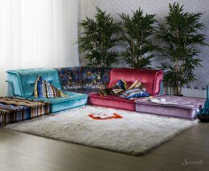 модульный диван в восточном стиле