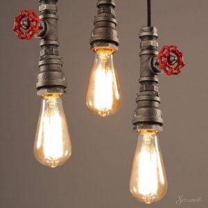 потолочные светильники в стиле лофт