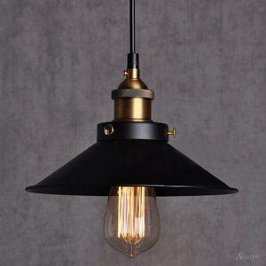 светильники в стиле лофт интерьере