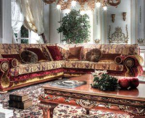 угловые диваны в восточном стиле