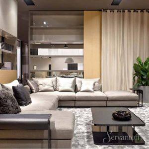 современные тенденции мебели в гостиную