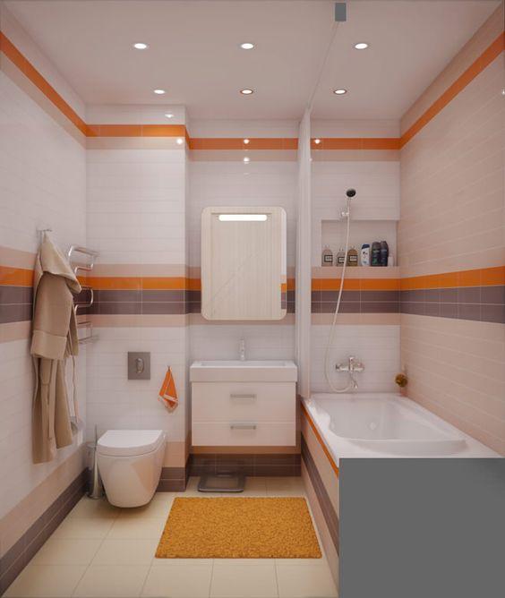 Небольшая ванная комната совмещенная с туалетом дизайн