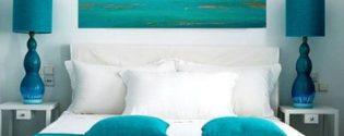 интерьер для небольшой спальни